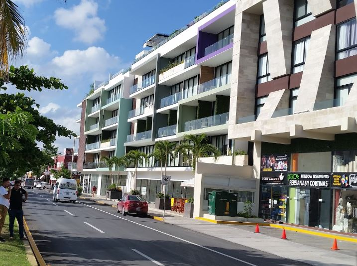 Mennace The City Departamentos En Venta Playa Del Carmen Fachada
