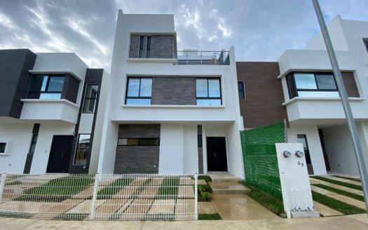 Argu Residencial Casas En Venta Cancún Fachada