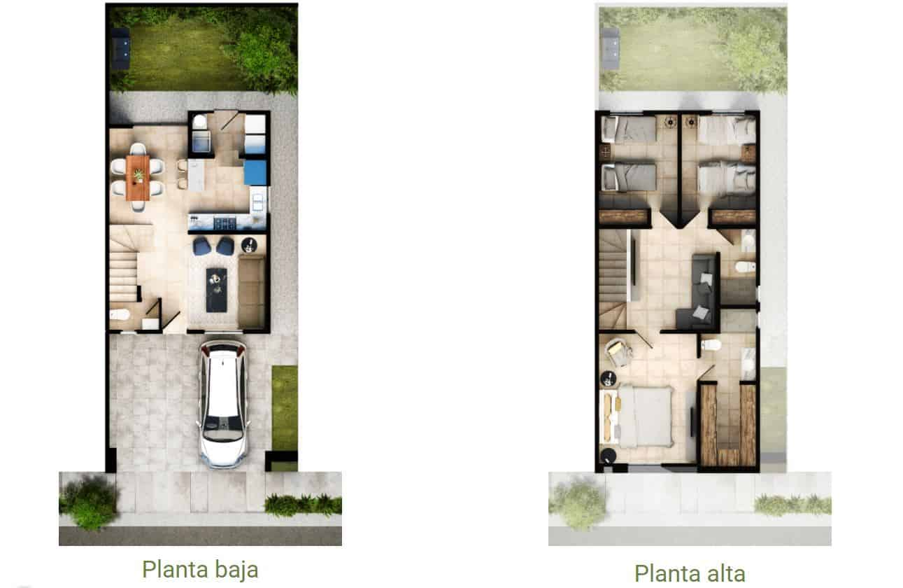 Altrysa Residencial - Planos Ibiza VI