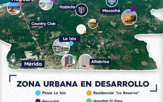 Terrenos en Mérida Oportunidad de Inversión Mocochá Yucatán Ubicacion