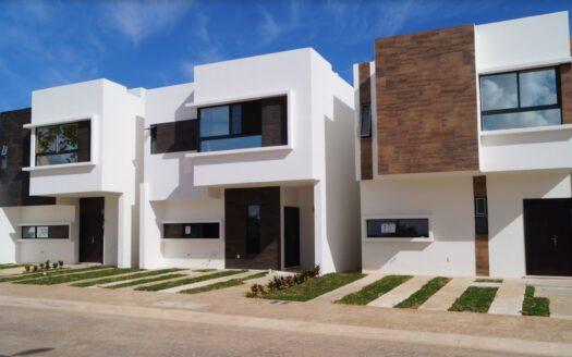 Cancún Casas En Venta Fraccionamiento Efort Residencial Fachadas